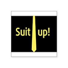 """Suit Up"" Barney Stinson Sticker"