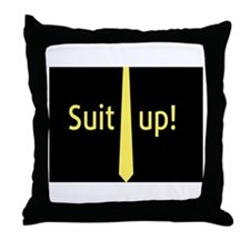 """""""Suit Up"""" Barney Stinson Throw Pillow"""