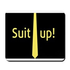"""""""Suit Up"""" Barney Stinson Mousepad"""