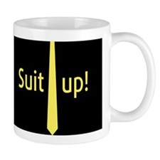"""Suit Up"" Barney Stinson Mugs"
