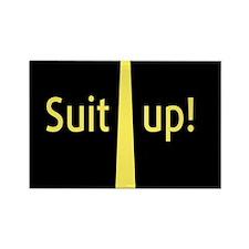 """Suit Up"" Barney Stinson Magnets"