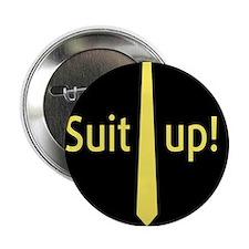 """""""Suit Up"""" Barney Stinson 2.25"""" Button"""