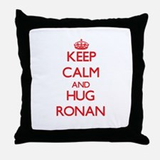 Keep Calm and HUG Ronan Throw Pillow