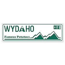 WYDAHO - 1969 Bumper Sticker