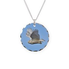 Snowy in flight Necklace
