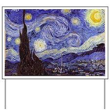 Starry Night Yard Sign
