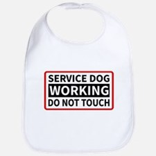 Service Dog Working Please Do Not Touch Bib