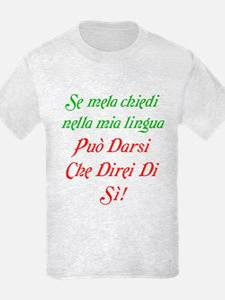 The italian T-Shirt