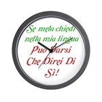 The italian Wall Clock