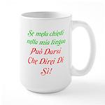 The italian Large Mug
