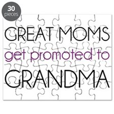 Great Moms Get Promoted To Grandma Puzzle