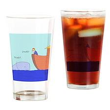 Noah? Jonah? Drinking Glass