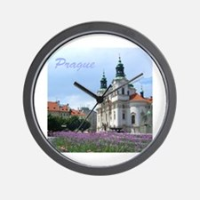Prague souvenir Wall Clock