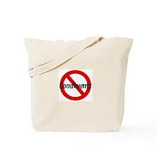 Anti Condiments Tote Bag