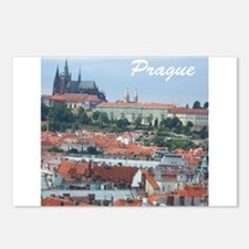 Prague city souvenir Postcards (Package of 8)