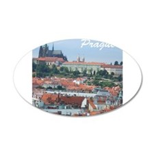 Prague city souvenir Wall Sticker