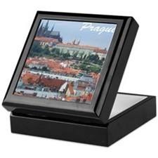 Prague city souvenir Keepsake Box