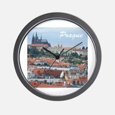 Prague city souvenir Wall Clock