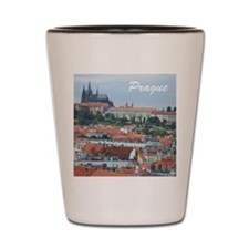 Prague city souvenir Shot Glass