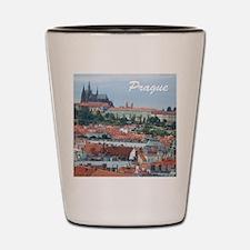 Prague city souvenir Shot Glass