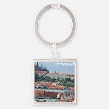 Prague city souvenir Keychains