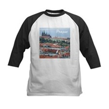 Prague city souvenir Baseball Jersey