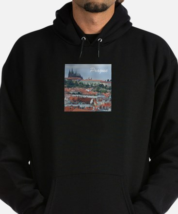 Prague city souvenir Hoody