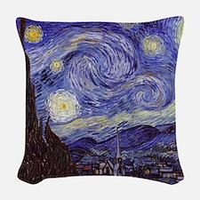 Starry  Woven Throw Pillow