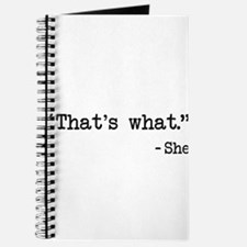 Thats What She Said Quote Journal