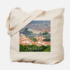 Prague Charles Bridge over Vltava river Tote Bag
