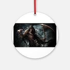 Death1 Ornament (Round)