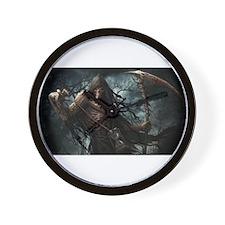 Death1 Wall Clock