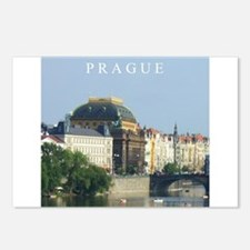 Prague State Opera House Postcards (Package of 8)