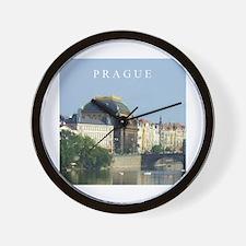 Prague State Opera House Wall Clock