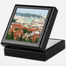 Prague Czech Republic souvenir Keepsake Box