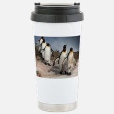March of the Penguins Travel Mug