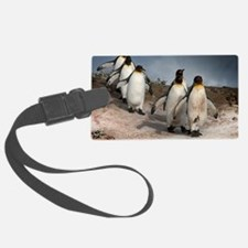 March of the Penguins Luggage Tag