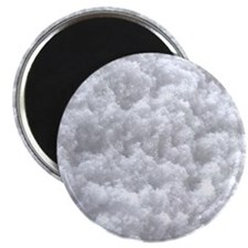 White Snow texture Magnets