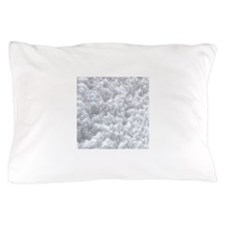 White Snow texture Pillow Case