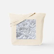 White Snow texture Tote Bag