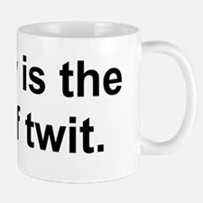 Brevity is the soul of twit. Mug