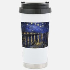 Van Gogh Starry Night O Stainless Steel Travel Mug