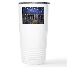 Van Gogh Starry Night O Travel Coffee Mug
