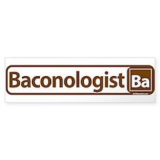 Baconologist Bumper Bumper Sticker