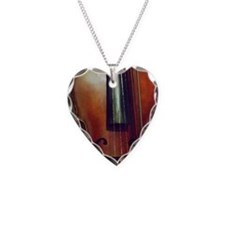 The Beautiful Viola Necklace Heart Charm