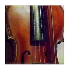 The Beautiful Viola Tile Coaster
