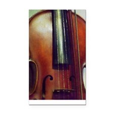 The Beautiful Viola Rectangle Car Magnet