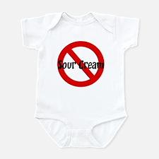 Anti Sour Cream Infant Bodysuit