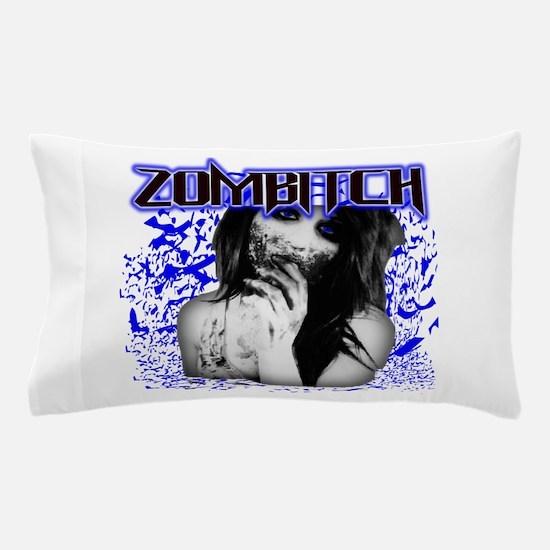 Zombitch Pillow Case