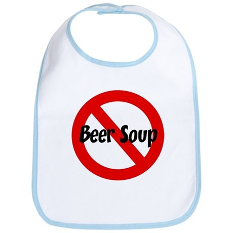 Anti Beer Soup Bib